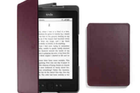 Amazon EU SARL - Free Voucher for a Kindle Touch Leather Cover - Save 100%