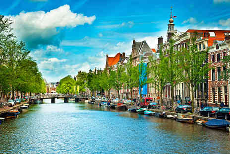 Crystal Travel - Two night Amsterdam break with 4 star accommodation and return flights - Save 30%
