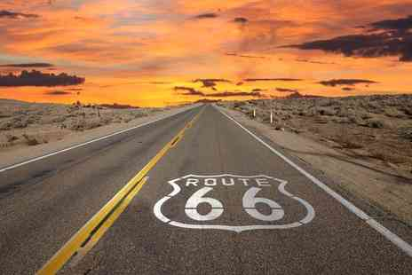 Independent World Choice Holidays - 14nt Route 66 road trip including return flights, accommodation and car hire - Save 50%