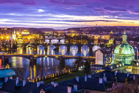 Airbridge Travel - Two night Prague break including flights - Save 56%