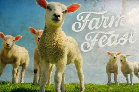 Farm Feast 2014 - Two Day Ticket For Two Adults or Family of Four - Save 50%