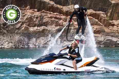 Big Crazy - Flyboarding Experience at National Diving and Activity Centre - Save 55%