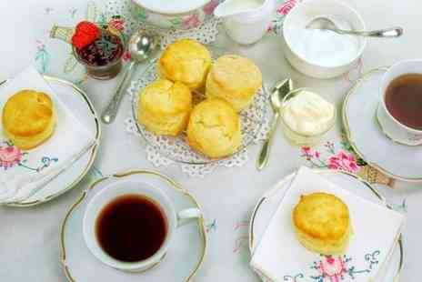 Cafe Nucleus - Cream Tea For Two - Save 50%