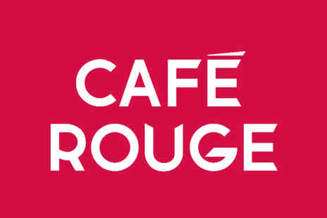 Cafe Rouge - Premium Candlelit Meal with Drinks for Two - Save 31%