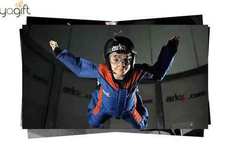 Buy A Gift - Airkix Indoor Skydiving for 2 People - Save 48%