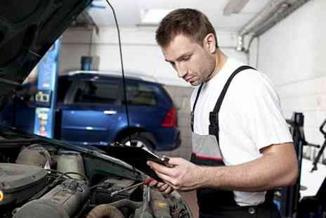 Driving Force - Car Maintenance Package With MOT Test - Save 87%