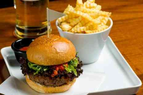 The Ball Room Sports Bar - Main dish with side and pint of beer, wine or soft drink each - Save 49%