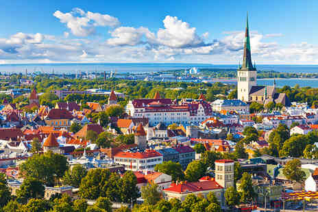 iFly Holidays - Two night break in Tallinn including return flights - Save 49%