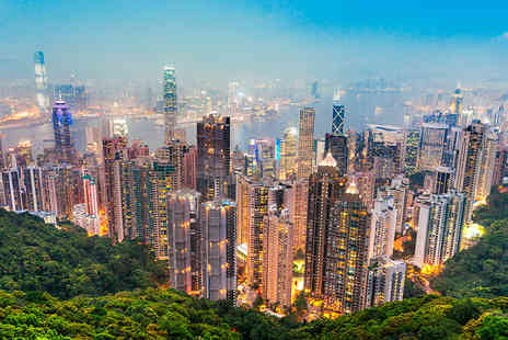 iFly Holidays - Four night 4 Star Hong Kong city break including return flights and tour - Save 34%