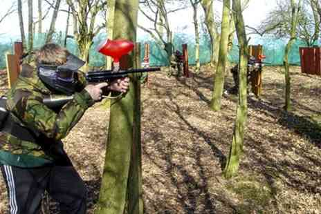 Patriot Paintball -  Half Day Session With 100 Balls Each For Five  - Save 84%