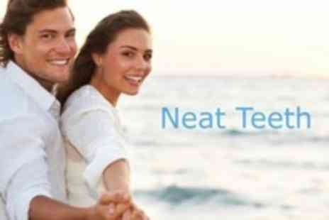 Neat Teeth - Laser Teeth Whitening For Two - Save 82%