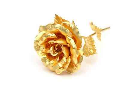 Spicy Decor - 24K Pure Gold Rose - Save 50%