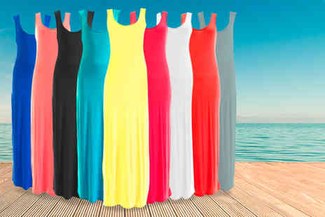 iKRUSH - Maxi dress in a choice of 9 colours - Save 70%