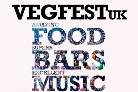 VegFest -  One Day  or Weekend  Entry  at VegFest UK - Save 35%