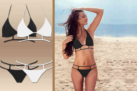 Suga Rush Love - Geometric cage design bikini - Save 67%