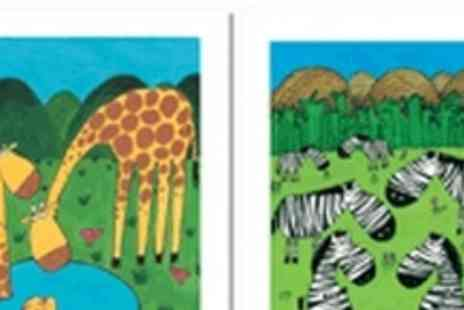 Carla Daly Childrens Wall Art - Colourful and vibrant wall art from childrens artist Carla Daly. - Save 56%