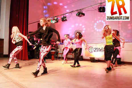 ZumbaRiot.com - Two Months of Zumba Classes at a Choice of Five London Locations - Save 82%