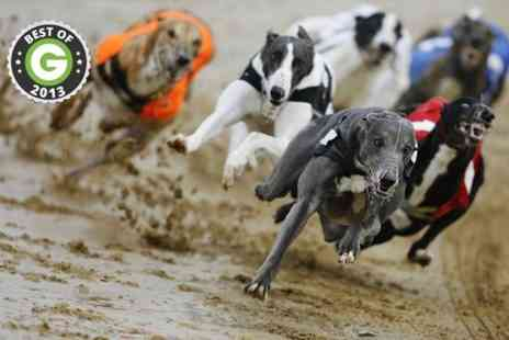 GRA - Greyhound Racing With Burger and Drink For Two - Save 74%