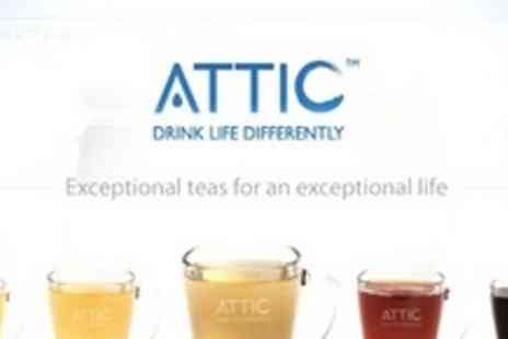Attic - Chinese Tea Tasting For Two With Five Types of Tea and Cake - Save 60%
