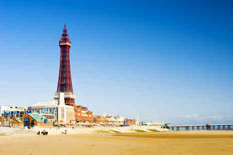 Blackpool FC Hotel - Two night Blackpool break for Two including a bottle of Prosecco & daily breakfast - Save 65%
