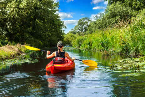 Back of Beyond Adventures - Thames canoe trip for 2 - Save 50%