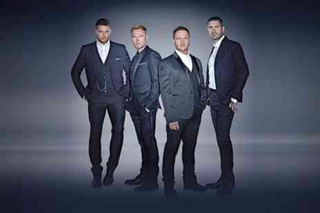Liz Hobbs Group - Two Tickets To Boyzone Live - Save 55%