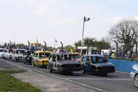 Mendips Raceway - Banger Racing and Hot Rods Event - Save 50%
