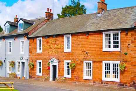 The Kings Arms Hotel - Two Night Stay For Two With Breakfast - Save 50%
