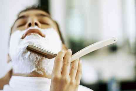Sweeney Todds - Hot Towel Shave With Facial  Plus Haircut - Save 50%