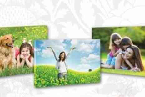 You Frame - 12x16 Personalised  Printed Canvas - Save 66%