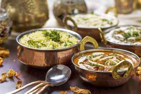 Ashoka Shak Dundee - Indian Meal With Rice and Naan For Two  - Save 52%