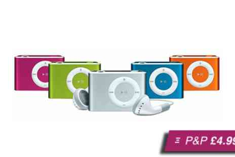 Qualite - Shuffling MP3 player in a choice of seven colours - Save 92%