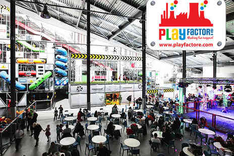 Play Factore - Play Centre Entry for Two Adults and Two Children - Save 50%