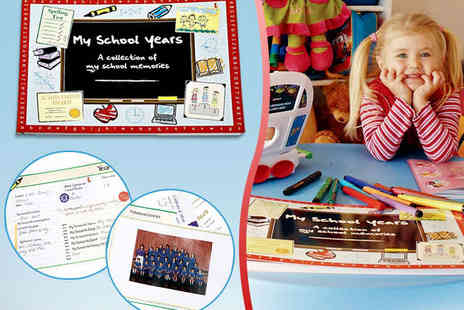 Identity Direct -  My School Years Memory Book with Delivery Included - Save 50%