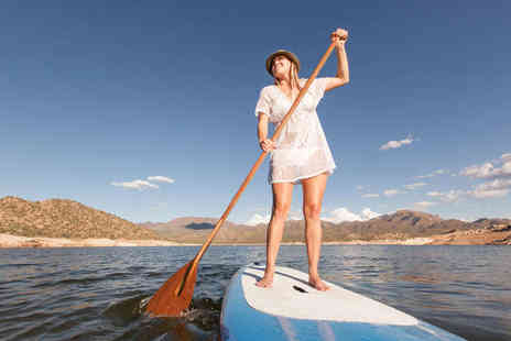 Back of Beyond Adventures - Two Hour Stand Up Paddleboarding Lesson for Two People  - Save 51%