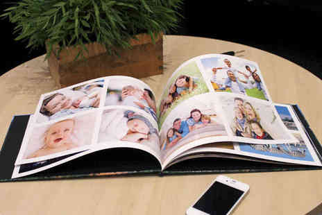 Cherish Your Memories - 24 Page Hardcover Photo Book in A4 Landscape - Save 73%