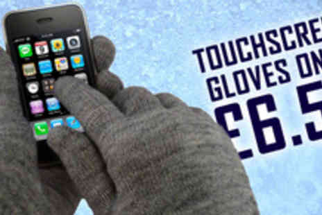 Touchscreengloves.co.uk - Stay toasty while you text with 50% off a pair of Touch Screen Gloves - Save 50%