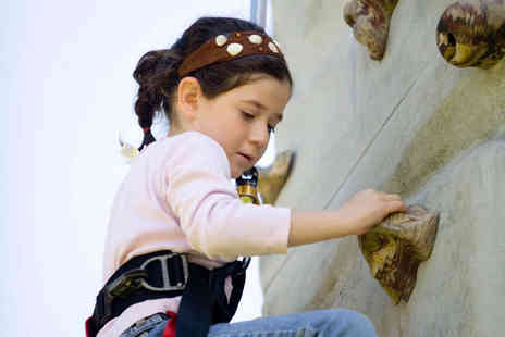 Boulders Indoor Climbing Centre - Holiday Climbing Camp for Child Aged   - Save 58%
