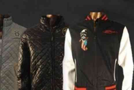Born on the Streets - Ed Hardy Jacket From Choice of Seven Designs - Save 84%