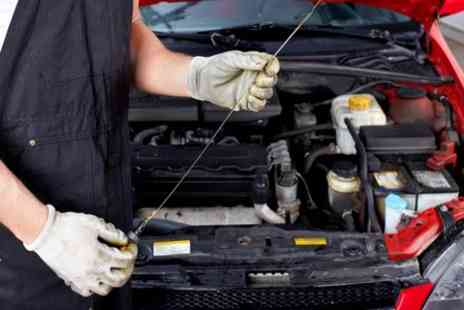 Executive Recovery and Repairs - Service Including Oil and Brake Fluid Change, Plus Valet  - Save 50%