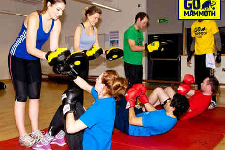 GO Mammoth - Three Months of Boxfit, Pilates Mixed Dance or Yoga Classes - Save 58%