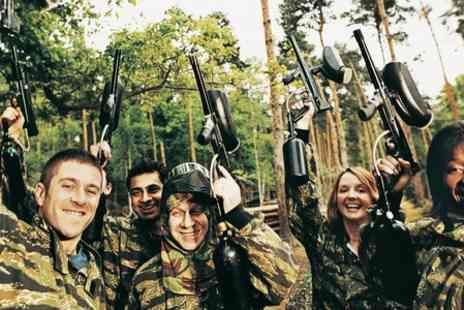 NPF Bassetts Pole Paintball - Paintball Experience With Lunch - Save 83%