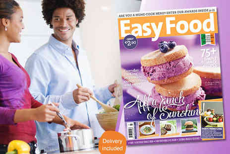 Easy Food Magazine - One Year Subscription to Easy Food Magazine - Save 52%