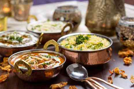 Jamdani - Two course Indian meal for 2  - Save 66%