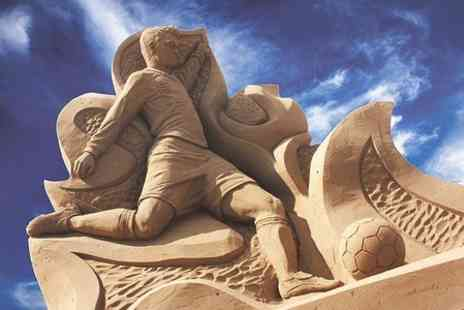 Sand Sculpture Festival 2013 - Entry to Sand Sculpture Festival  For Two Adults - Save 41%