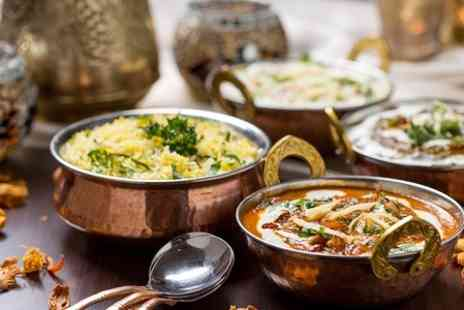 Aangan Indian Restaurant - Indian Meal With Sides For Two - Save 47%