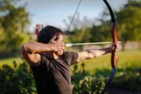 Leisure Matters - Choice of archery axe throwing or rifle shooting for 1 - Save 53%