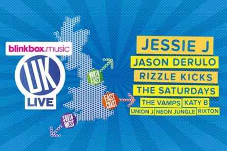 AEG Live UK -  Two Tickets to South West Live - Save 50%