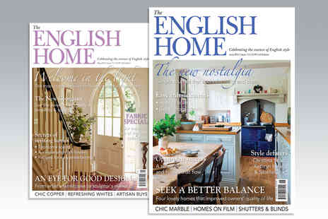 Archant Community Media - 12 Month Subscription to The English Home Magazine - Save 47%