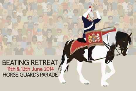 Beating Retreat - Tickets to Beating Retreat Military Pageant  For Two - Save 50%